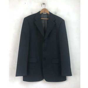 Perry Ellis Blazer Mens Size 40R Charcoal Gray